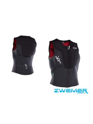 ION Vector Vest Frontzip Black