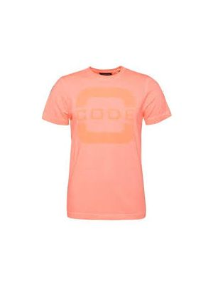 Foresail T-shirt Men neon coral