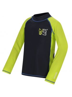 Hobey Lycra Kids navy/lime zes