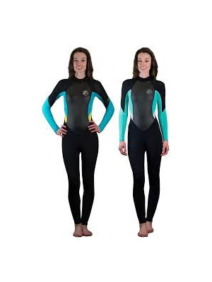 Womans Bahia 3/2 Back Zip