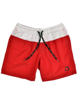 Code Zero Swimtrunk Voile Duo red
