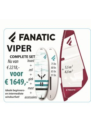 Fanatic Viper 75 & Ride Rig 6.5 m2